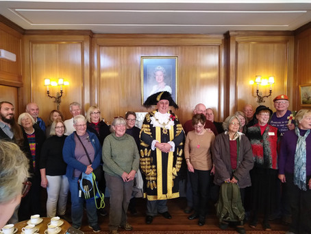 Colorado History visit to the UK