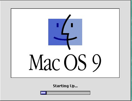 The Mac OS Classic OS Starting Up (1999-2001)