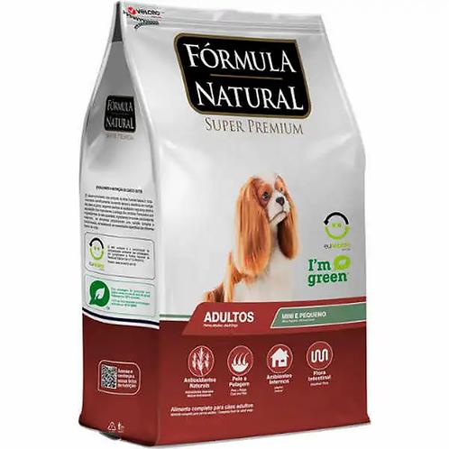 Ração Fórmula Natural Super Premium - Cães Adultos Raças Mini e Pequena - 7 kg