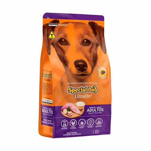 Ração Special Dog Ultralife p/ Cães Adultos Raças Pq Sabor Frango e Arroz - 15kg