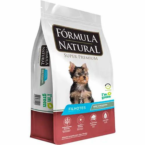 Ração Fórmula Natural Super Premium - Cães Filhotes Raças Minis e Peq. - 7 kg