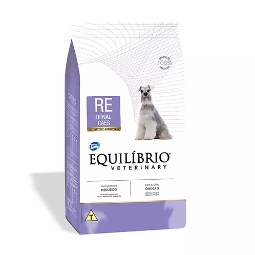 Ração Equilíbrio Veterinary Renal - Cães Adultos - 2 kg