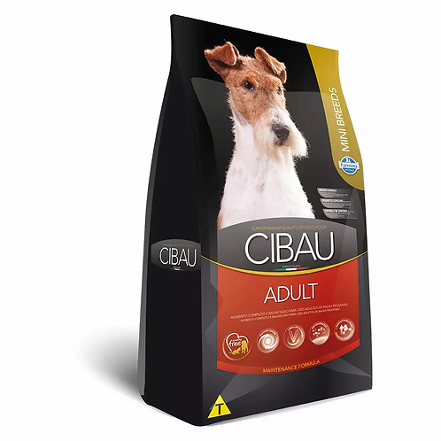 Ração Cibau Mini Breeds para Cães Adultos de Raças Pequenas