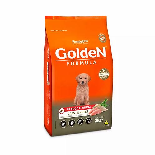 Ração Golden Filhote Sabor Frango e Arroz para Cães