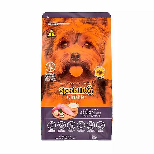 Ração Special Dog Ultralife Sênior p Cães de Raças Pq - Frango e Arroz - 15 kg