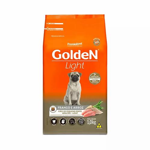 Ração Golden Fórm. Mini Bits Light p Cães Adultos de Pequeno Porte Sabor Frango