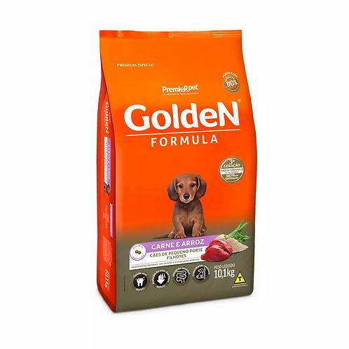 Ração Golden Fórmula Mini Bits Para Cães Filhotes Raças Pequenas Sabor Carne