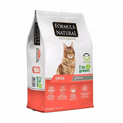 Ração Fórmula Natural para Gatos Castrados - 7kg