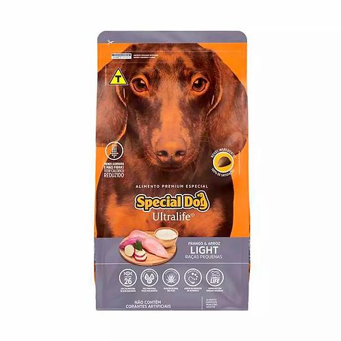 Ração Special Dog Ultralife Light  Cães de Raças Pq Sabor Frango e Arroz - 15 kg