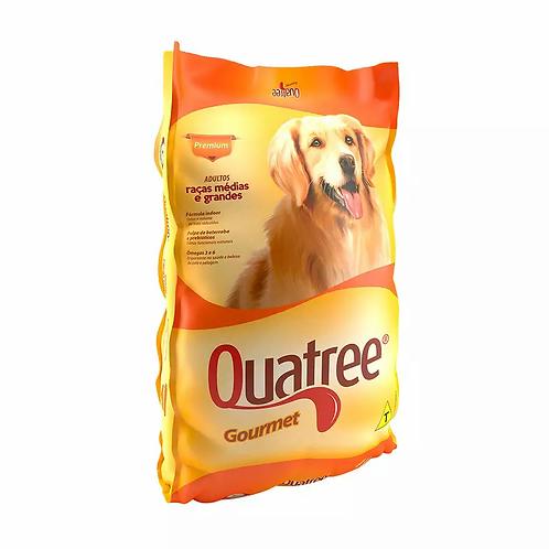 Ração Quatree Gourmet para Cães Adultos de Raças Médias e Grandes - 15 kg