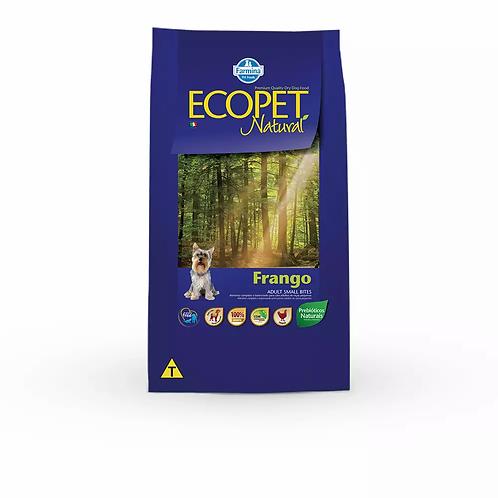 Ração Ecopet para Cães Adultos Raças Pequenas sabor Frango - 15 kg