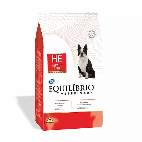Ração Equilíbrio Veterinary Hepatic - Cães Adultos - 2 kg
