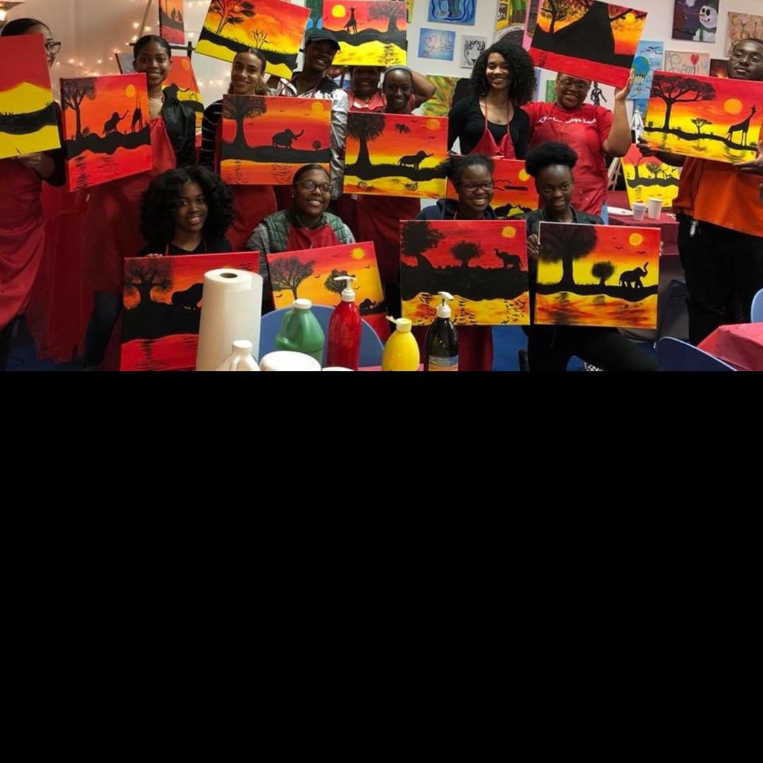 Paint Party.