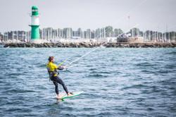 Daniel Weiss, Kitesurfing