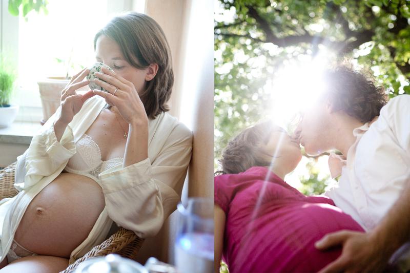 Natürliche Schwangerschaftsfotografie Susanne Krauss München