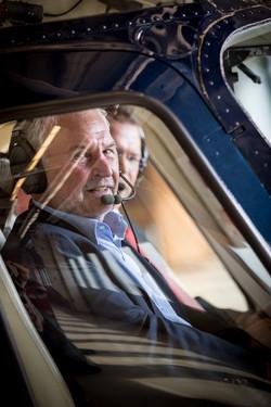 Hans Ostler, Unternehmer,Helicopter