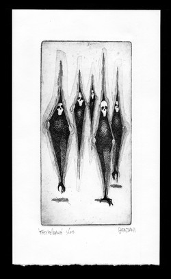 THEY'RE COMING_4.5x8 Plate