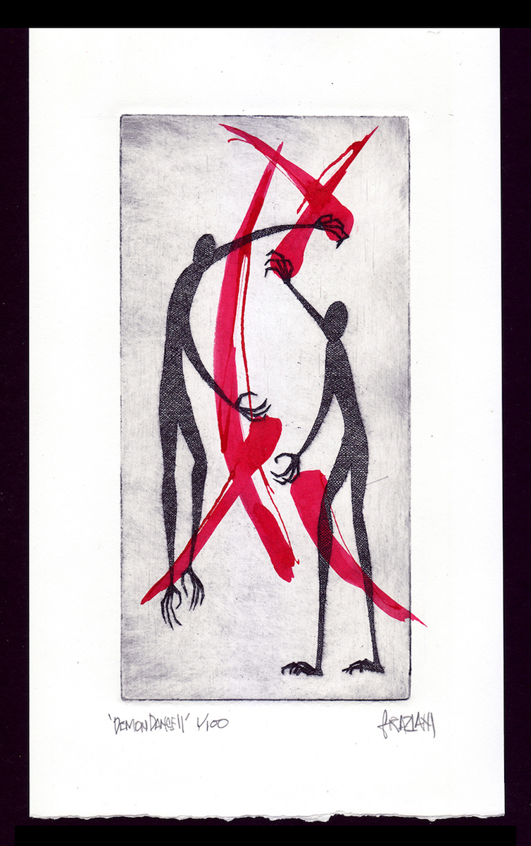 DEMON DANCE II_4x8 Plate