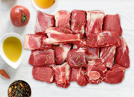 Mutton Biryani Cut