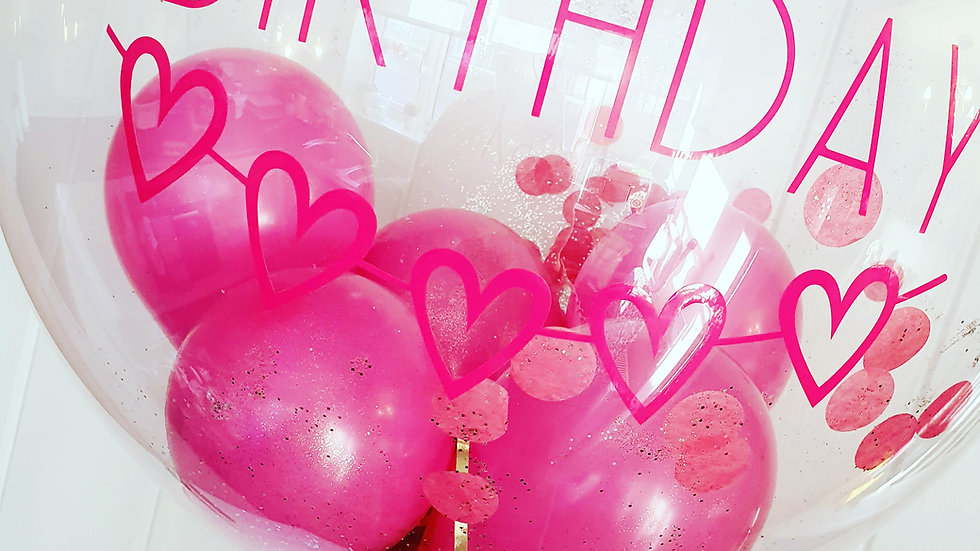 Large Bubble Balloon (UK Mainland address)
