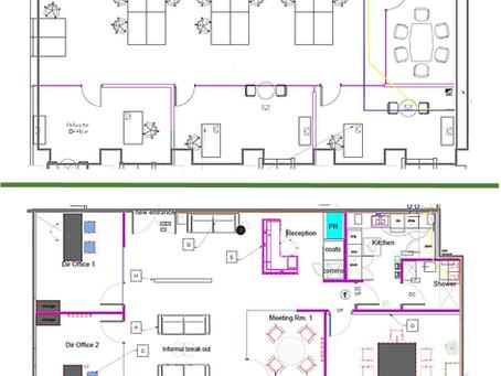 Case Study Floor Plan: New Way Of Working