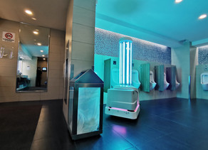 UVD Robots in KLIA, Malaysia