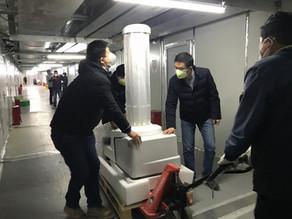 UVD Robots Arrive In Wuhan to aid Coronavirus Fight