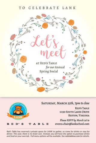 Let's Meet! LANK 2017 Spring Social