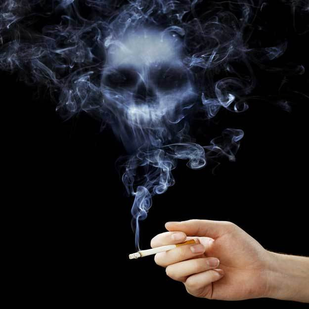 No question here... Smoking Kills!