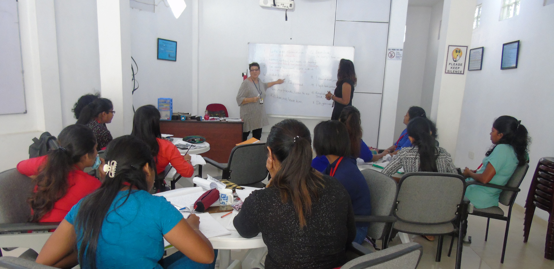 Lecture session