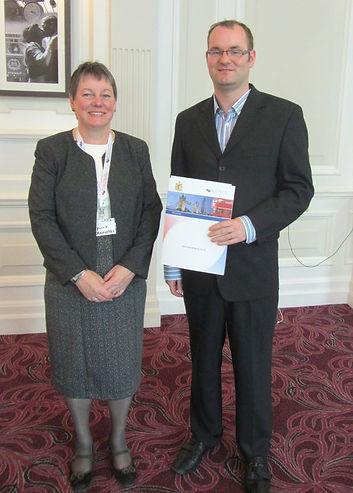 Dr.Phyllis Vannufel and Sebastian Power.
