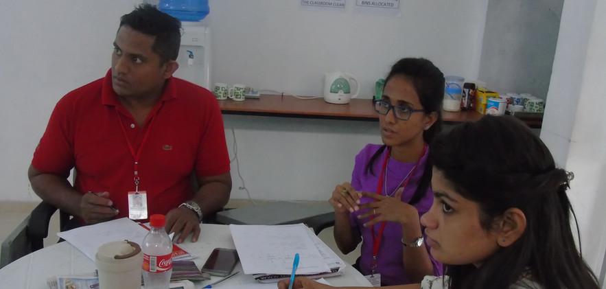 Sheran,Chamari & Gayathri - 107