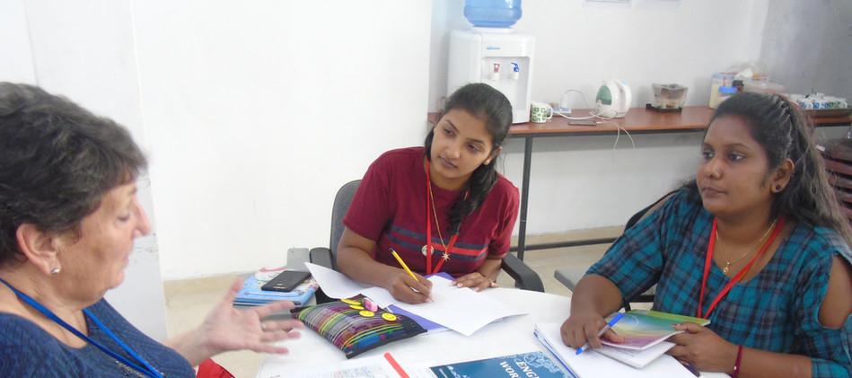 Ms.Janet , Chandrika and Sharmila