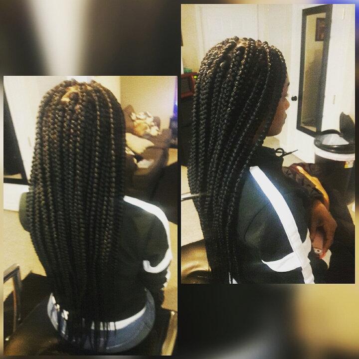 Large Waist Length Box Brids