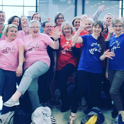 Look a #happybunch of #choir #singers having a great giggle! Why not try us out on Sundays 7.15-8.45