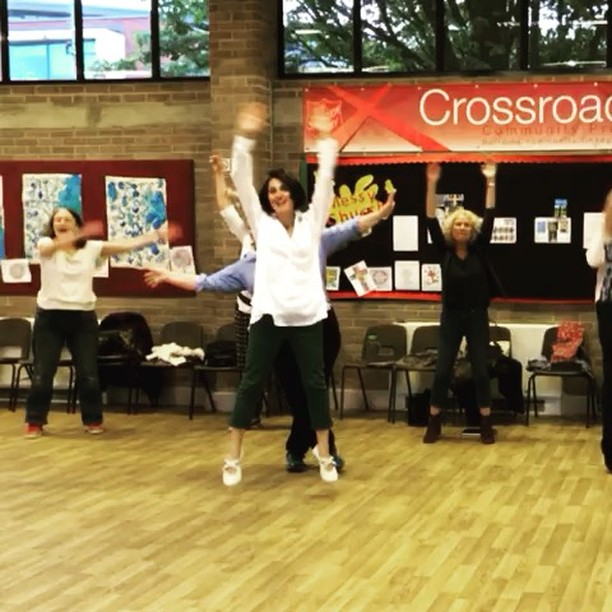 Having way too much fun _gjcjazzchoir #jumpforjoy #sing #singyourheartout #singing #choir #community