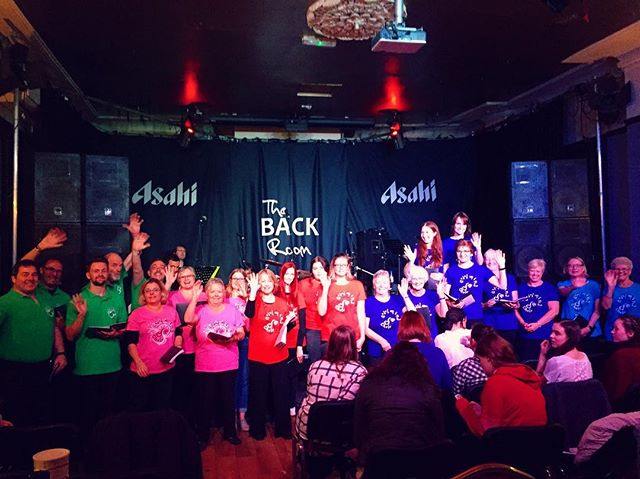 Oh my god I #love our new #tshirts we are so #colourful ! Well done yesterday gang you rocked it! _g