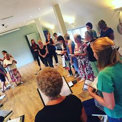 Sunday nights are the best! #choir #friendship #singing #community #choirmates #choirperformance #go