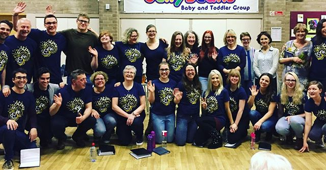 My gang! What a fab lot! #choir _gjcjazz
