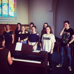 The first picture of many from GcYc - Godalming Contemporary Youth Choir! You go 11-18's make some n