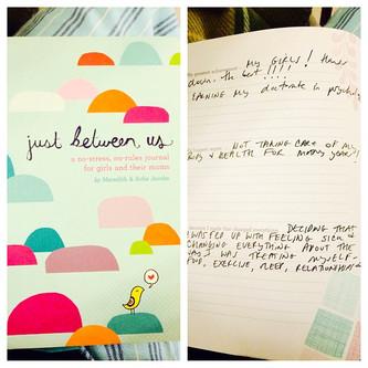 """Just Between Us"": Journaling Between Mothers and Daughters"