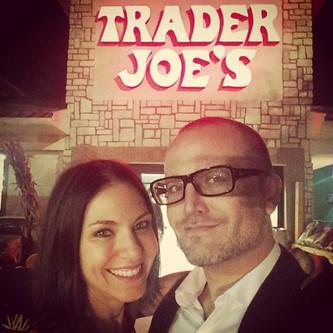 Anniversary Nightcap at Trader Joe's ;)