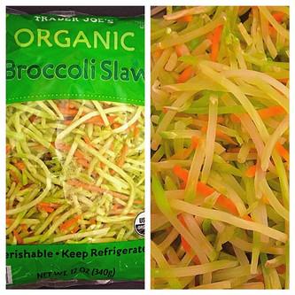 "Broccoli Slaw ""Noodles"""