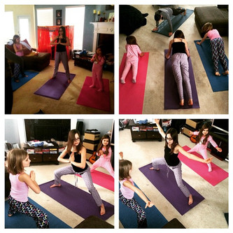 Snow Day Yoga--Keeping Active While Staying Indoors