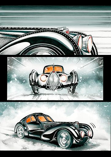 Comic Bugatti Canfranc