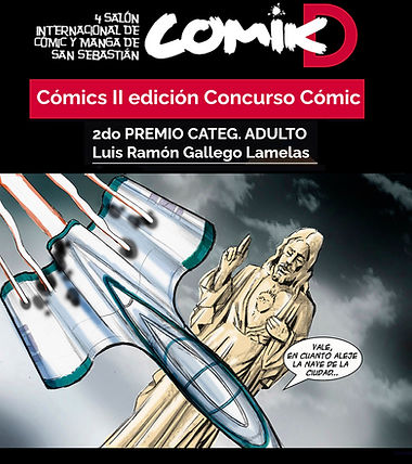 Concurso de Comic Donosti 2020, Luis Ramón Gallego Lamelas