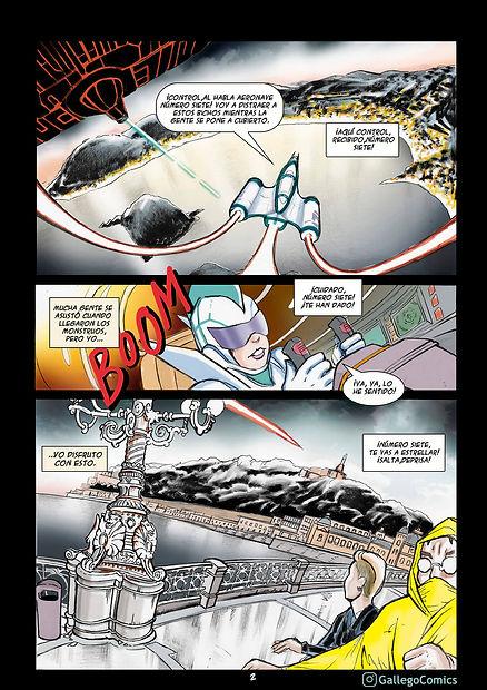 Segundo premio concurso comic Donosti 2020