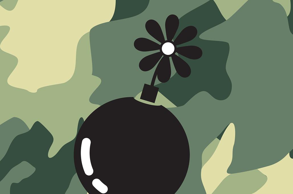 Blumenbomben