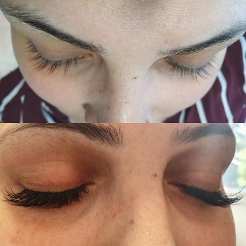 Classic semi-permenant mink eyelash extensions