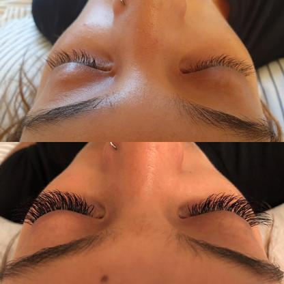 Cashmere semi-permenant eyelash extensions